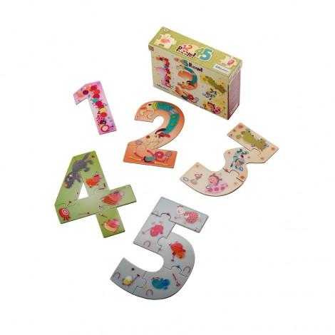 123 puzzle des chiffres partir de 2 ans sebio for Rehausseur a partir de 2 ans