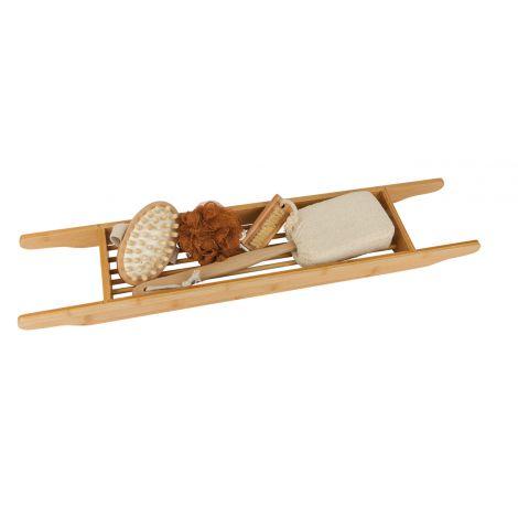 set cadeau support de baignoire en bambou sebio. Black Bedroom Furniture Sets. Home Design Ideas