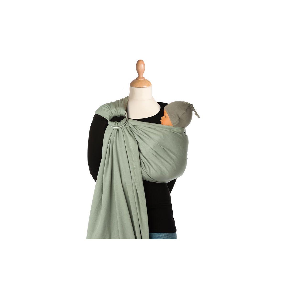 echarpe porte b b bb sling padded 990 grey violet sebio. Black Bedroom Furniture Sets. Home Design Ideas