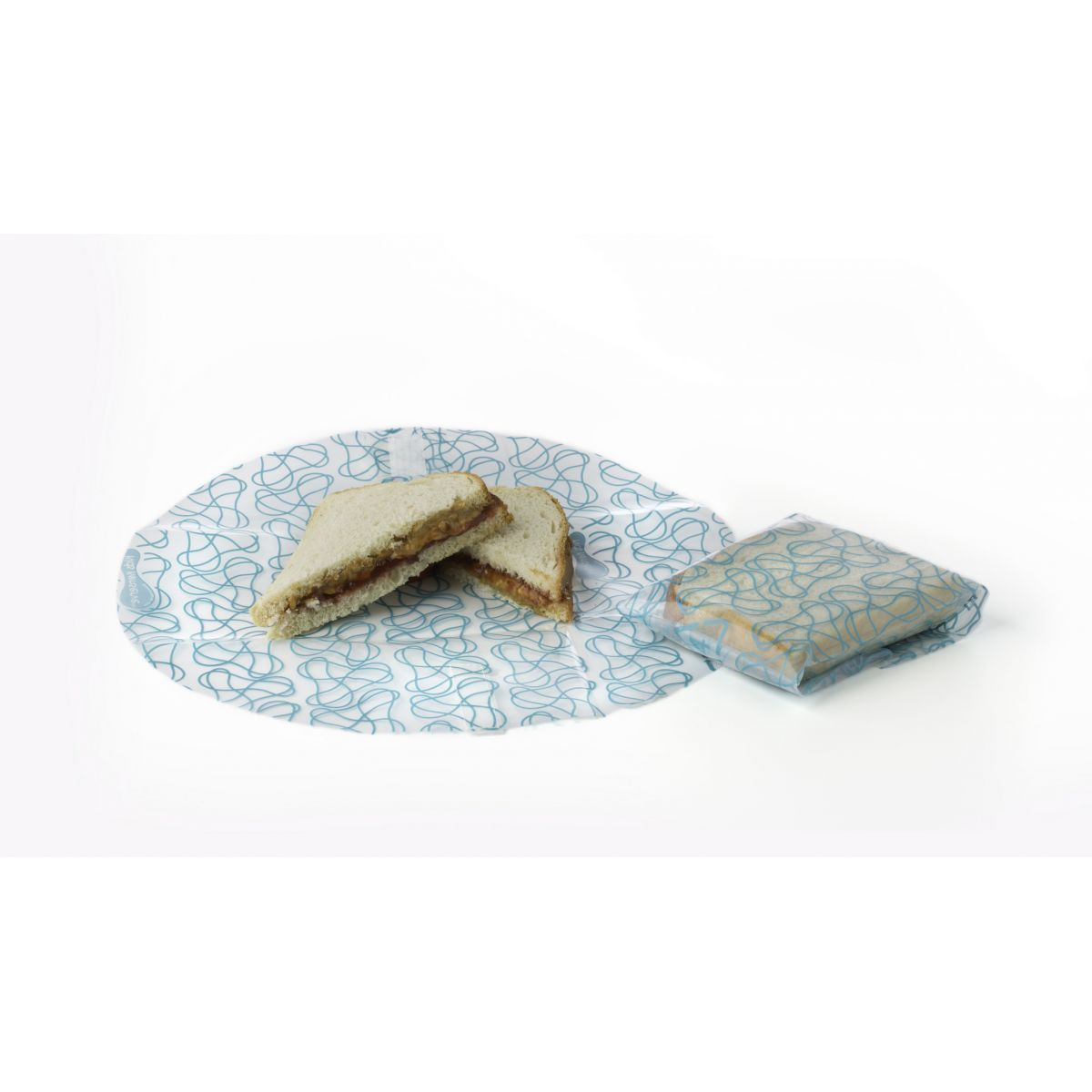 emballages alimentaires r utilisables kozy wrap cristal azur 2 pi ces sebio. Black Bedroom Furniture Sets. Home Design Ideas