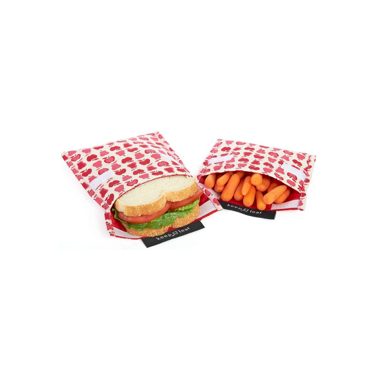 pochette r utilisable pour go ters et sandwichs motif avions sebio. Black Bedroom Furniture Sets. Home Design Ideas