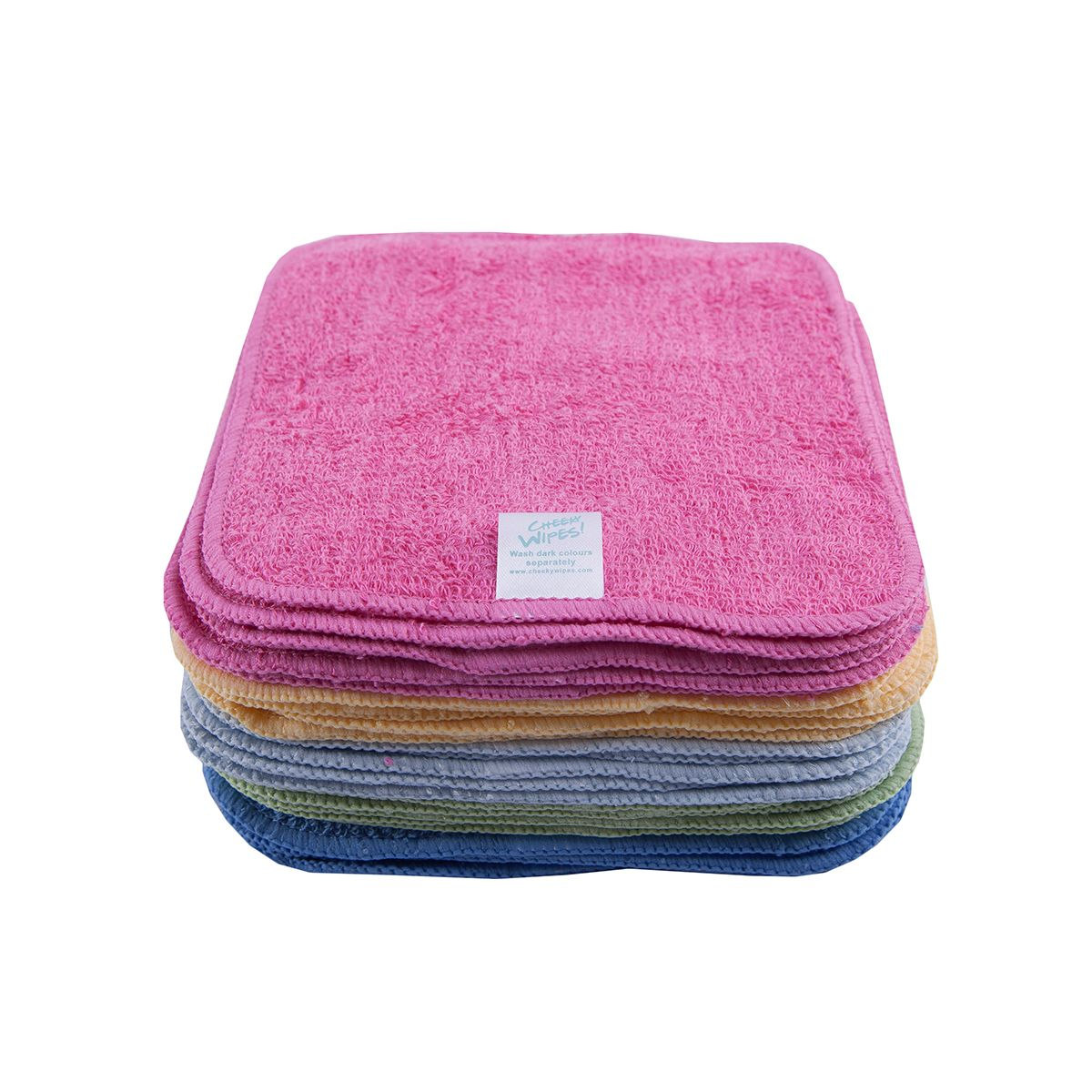 mini kit lingettes lavables bambou arc en ciel 1 he lavande camomille sebio. Black Bedroom Furniture Sets. Home Design Ideas