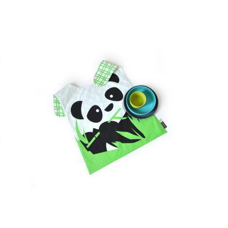 set de vaisselle panda en fibre de bambou biod gradable. Black Bedroom Furniture Sets. Home Design Ideas