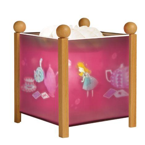 lanterne magique alice sebio. Black Bedroom Furniture Sets. Home Design Ideas