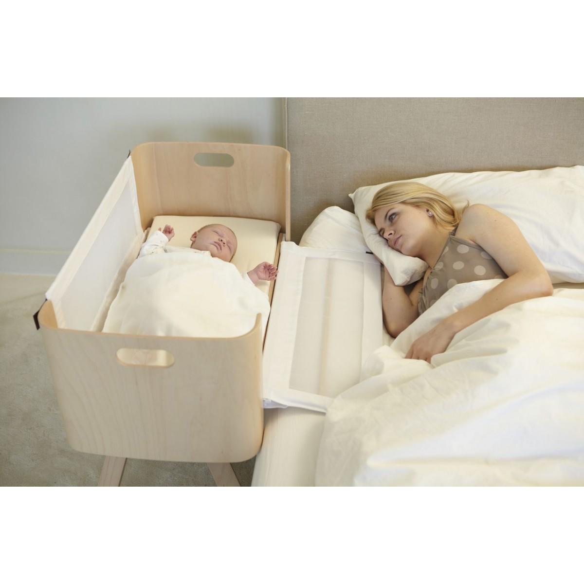 lit co dodo berceau de chevet sebio. Black Bedroom Furniture Sets. Home Design Ideas