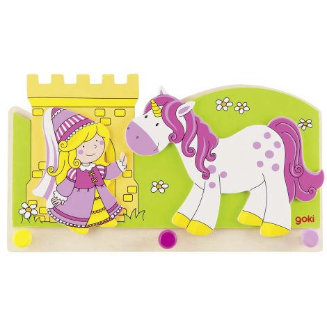 Porte manteaux princesse et licorne sebio for Decoration maison licorne