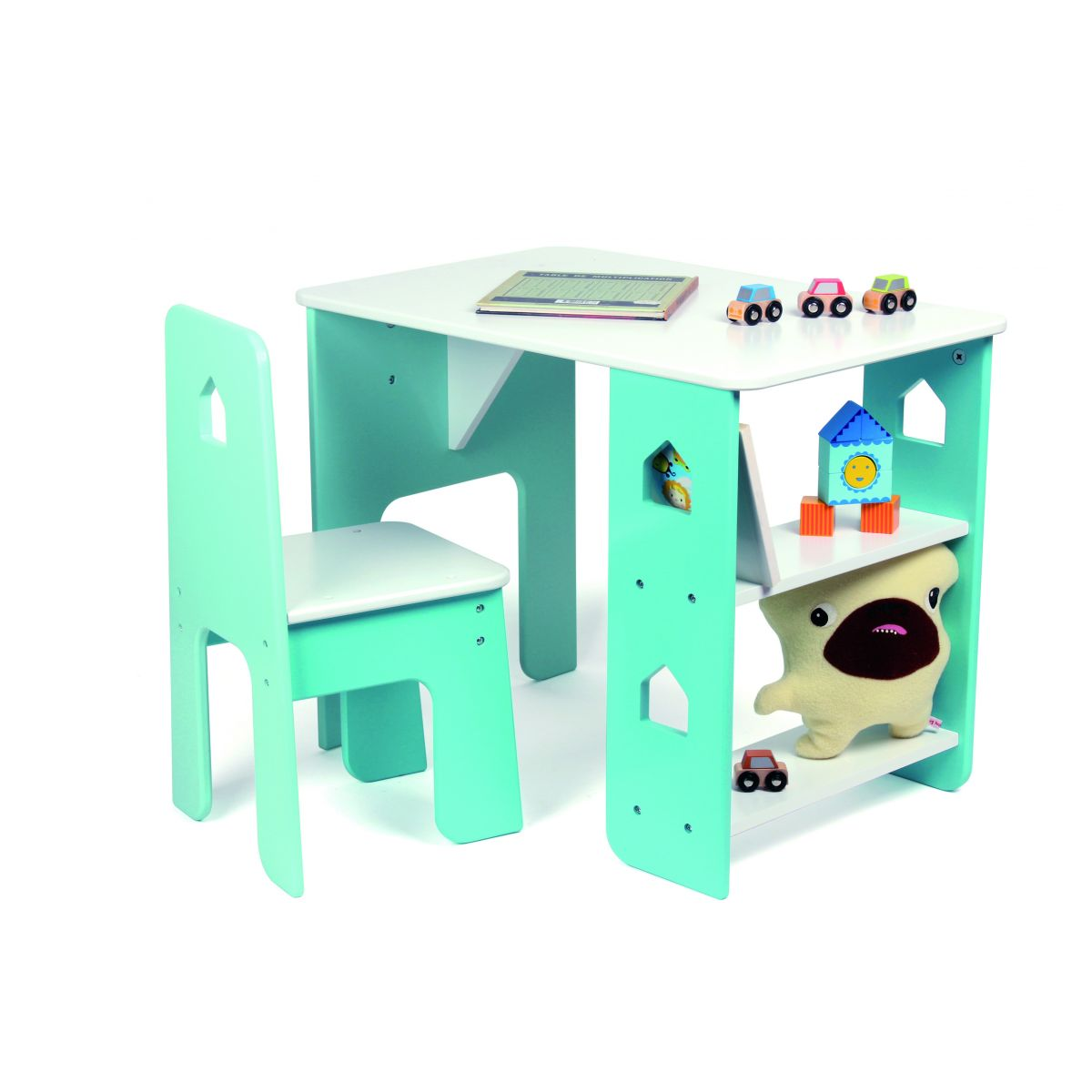 table bureau et chaise pour enfant partir de 3 ans sebio. Black Bedroom Furniture Sets. Home Design Ideas