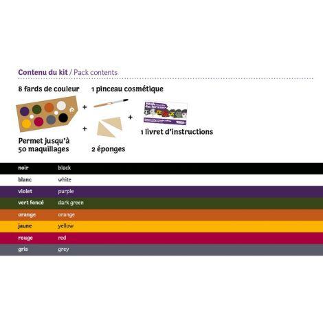 Maquillage bio certifié par Ecocert et de fabrication française rouge à
