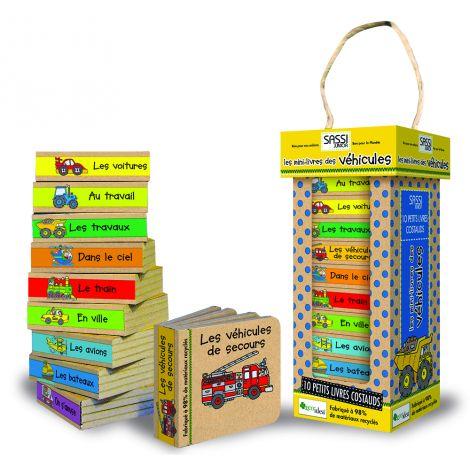 Les mini livres des v hicules partir de 2 ans sebio for Rehausseur a partir de 2 ans