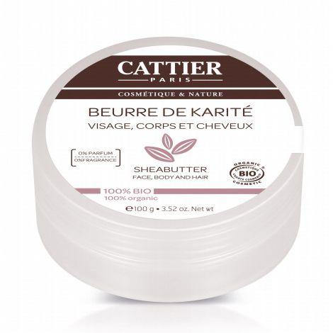 Beurre de karit visage corps et cheveux 100 g sebio - Beurre de karite utilisation ...