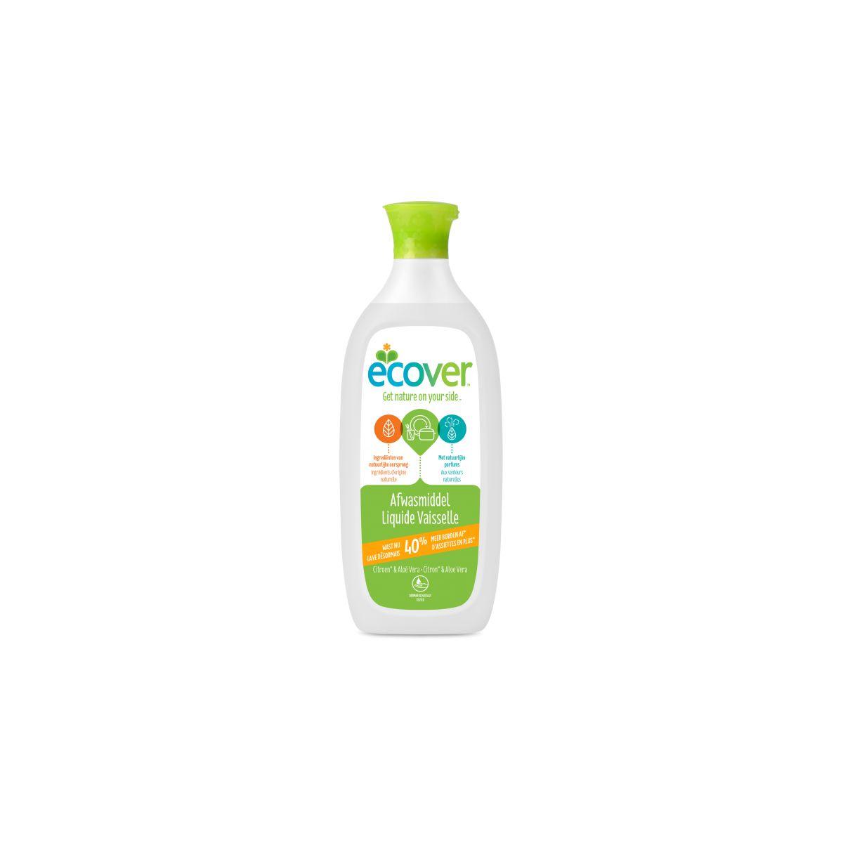 Vaisselle liquide citron et aloe vera 500 ml sebio - Entretien aloe vera ...