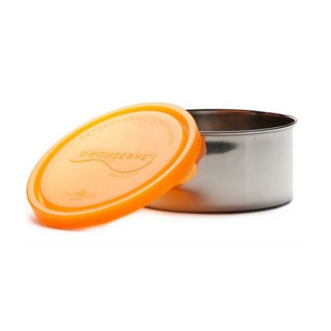 boite ronde en inox avec couvercle mandarine 500 ml sebio. Black Bedroom Furniture Sets. Home Design Ideas