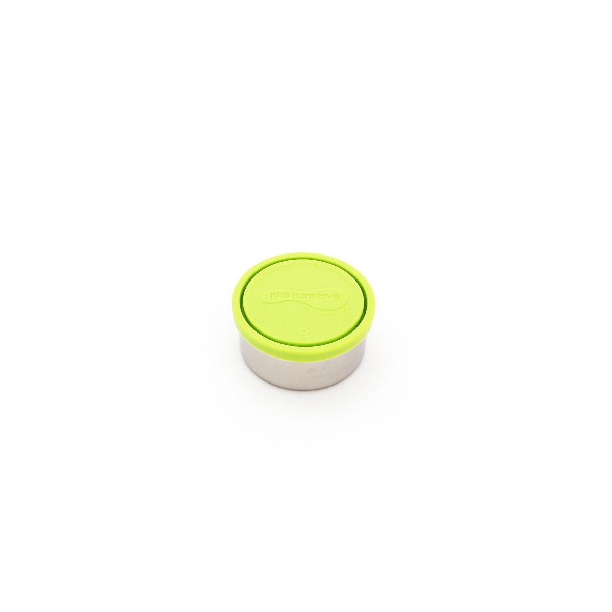 boite ronde en inox avec couvercle pomme 280 ml sebio. Black Bedroom Furniture Sets. Home Design Ideas