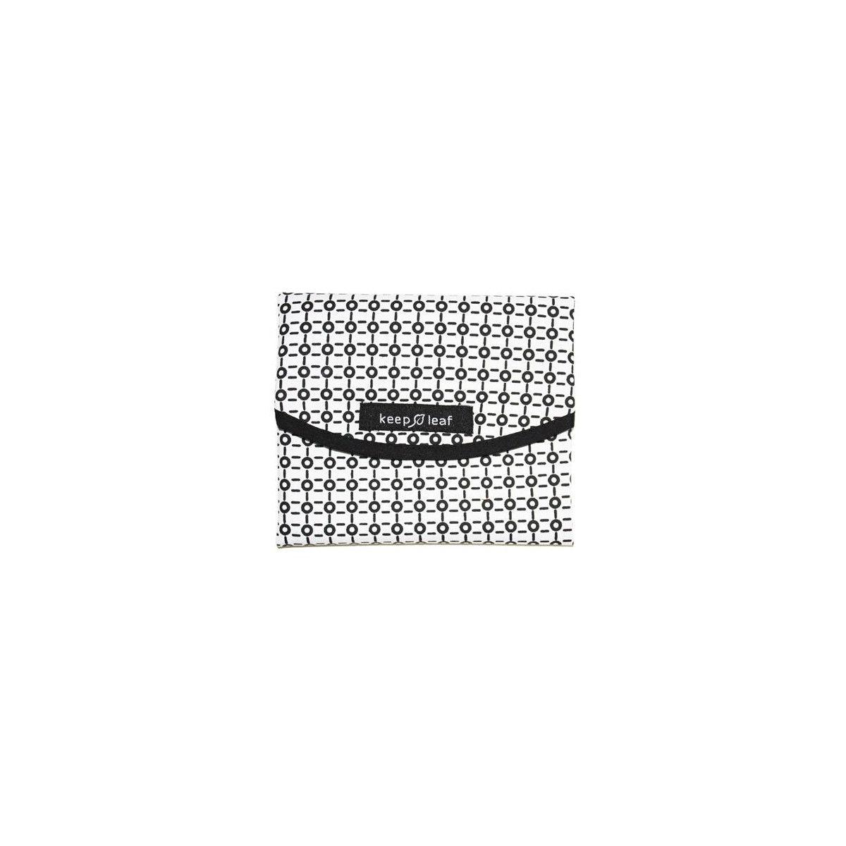 pochette r utilisable ronde pour go ters et sandwichs motif black white sebio. Black Bedroom Furniture Sets. Home Design Ideas
