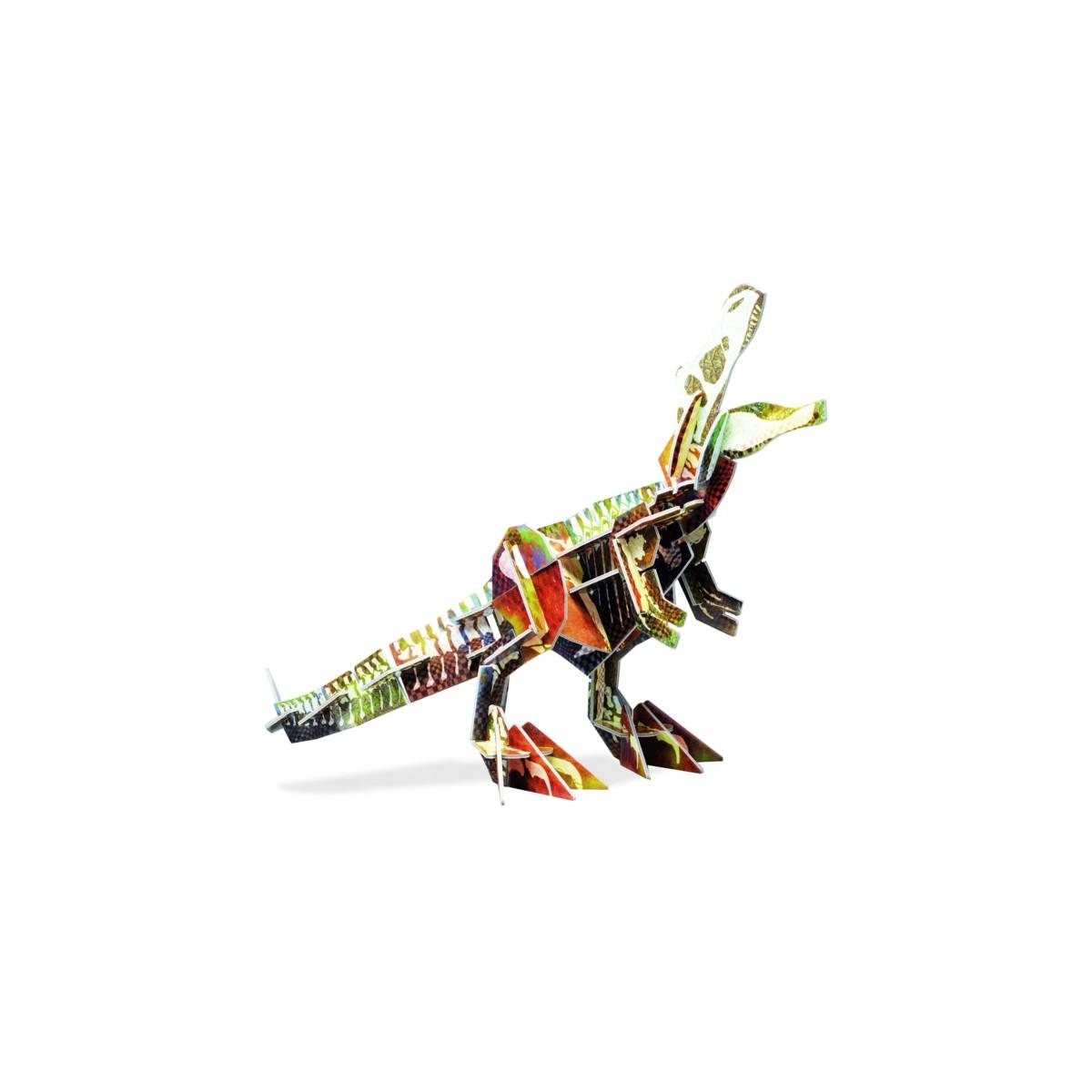 Ecokit jeu de construction en 3d tyrannosaurus for Jeux de construction de maison en 3d