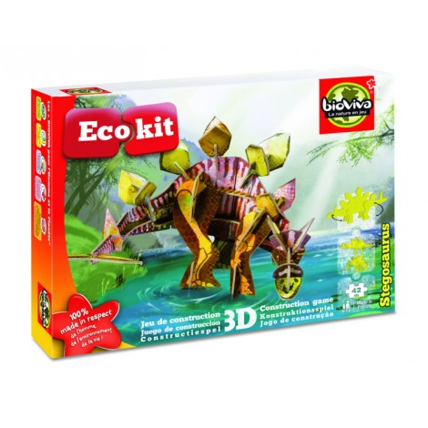 ecokit jeu de construction en 3d st gosaurus sebio. Black Bedroom Furniture Sets. Home Design Ideas