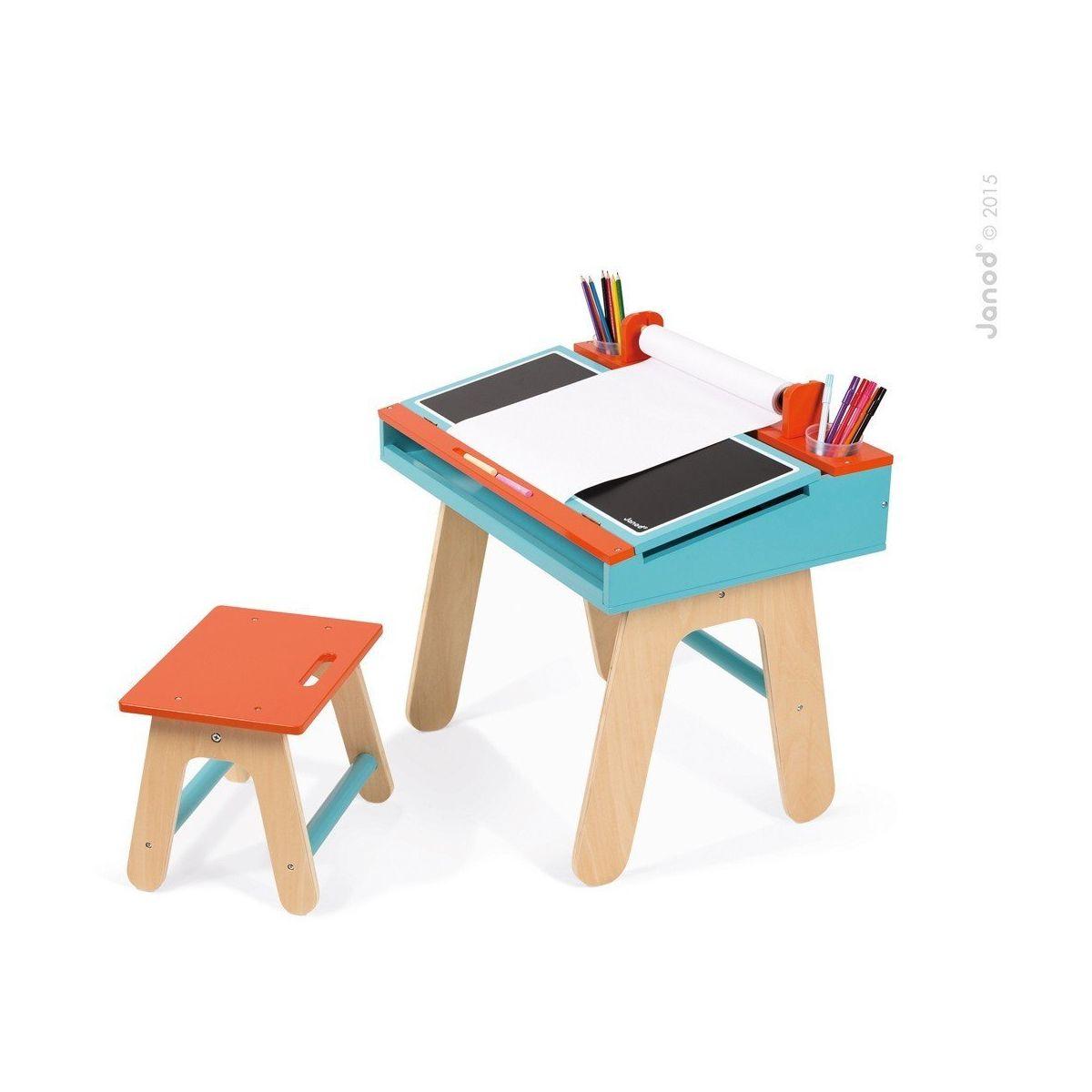 Bureau d 39 colier bleu et orange sebio - Bureau enfant 3 ans ...