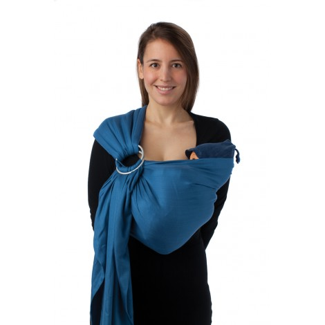 Echarpe porte b b bb sling 975 green peas sebio - Echarpe de portage sling pas cher ...