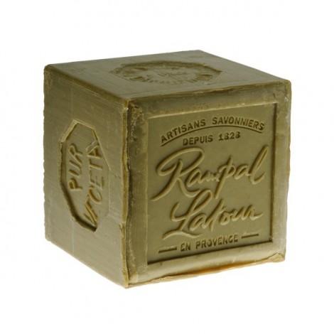 Savon de marseille 72 l 39 huile d 39 olive cube vert 600 g sebio - Composition savon de marseille ...