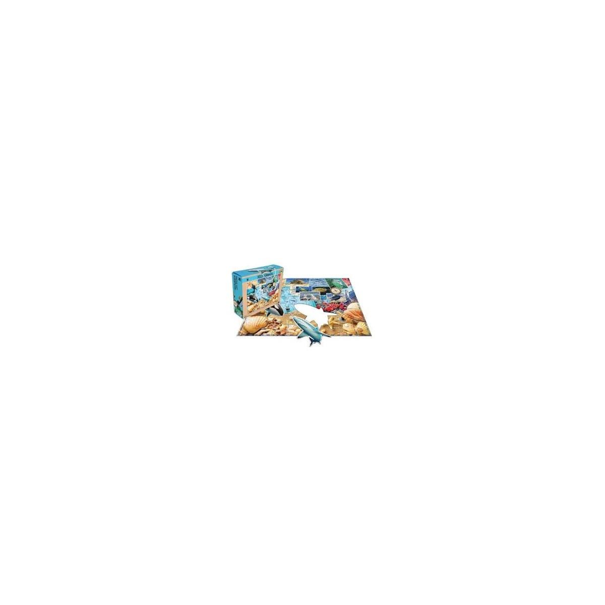 ... u0026gt; Jouets u0026gt; Logique et puzzles u0026gt; Puzzle / Tapis de sol - Fonds Marins