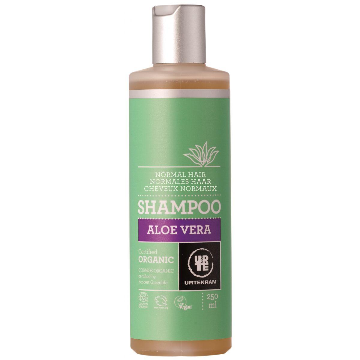 Favori Shampooing pour cheveux normaux à l'aloe vera BIO 250 ml - SeBio MN49