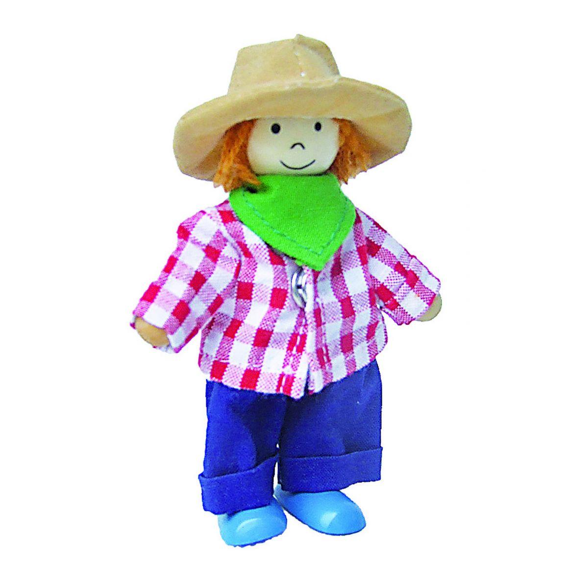 Coffret en bois poup es gar on et fille habiller partir de 3 ans sebio - Habiller des filles gratuit ...