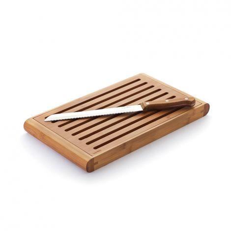 Planche d couper pour le pain en bambou 35 x 21 cm sebio - Planche pour plier le linge ...