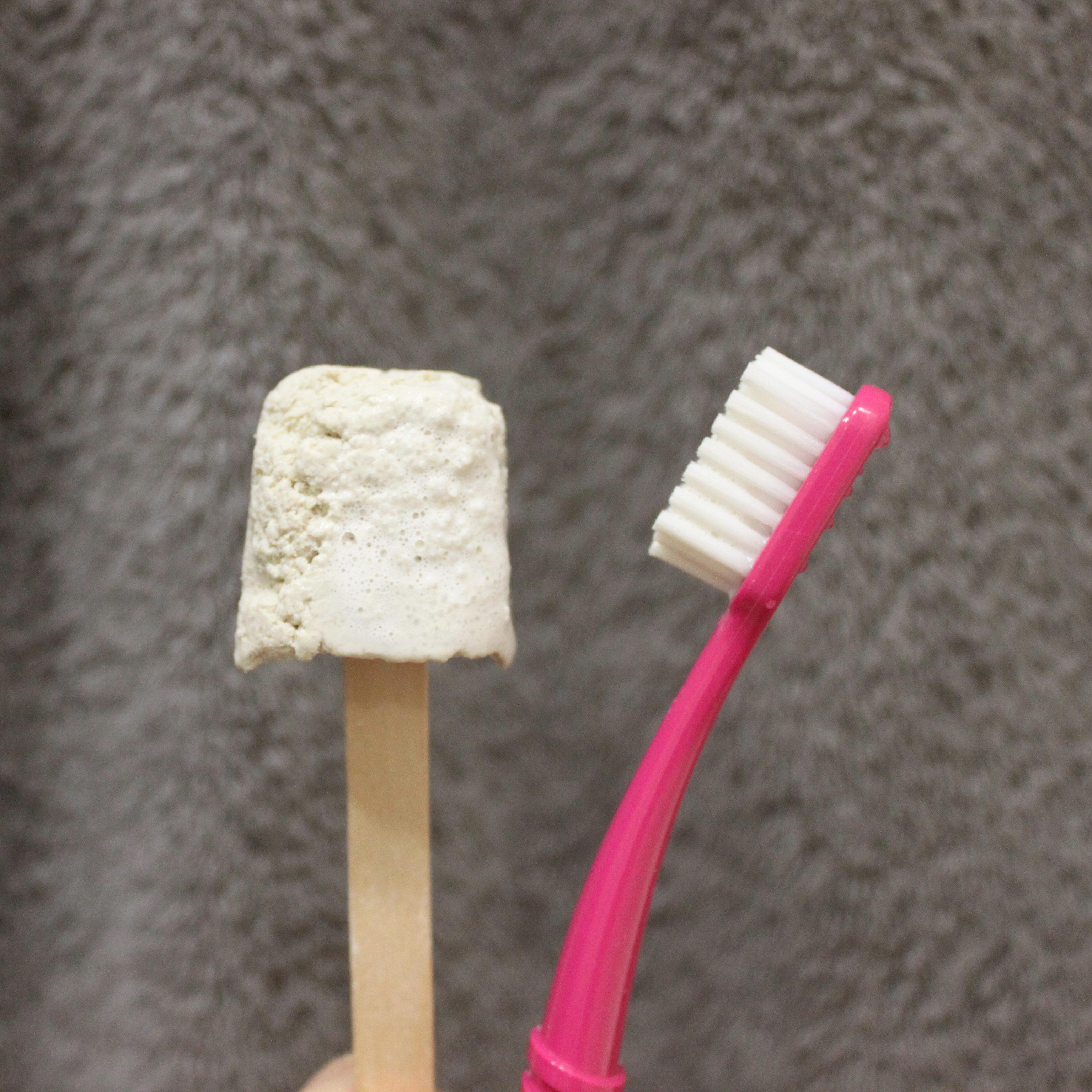 dentifrice solide