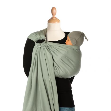 Echarpe Portebébé BB Sling Padded Grey Violet SeBio - Porte bébé sling