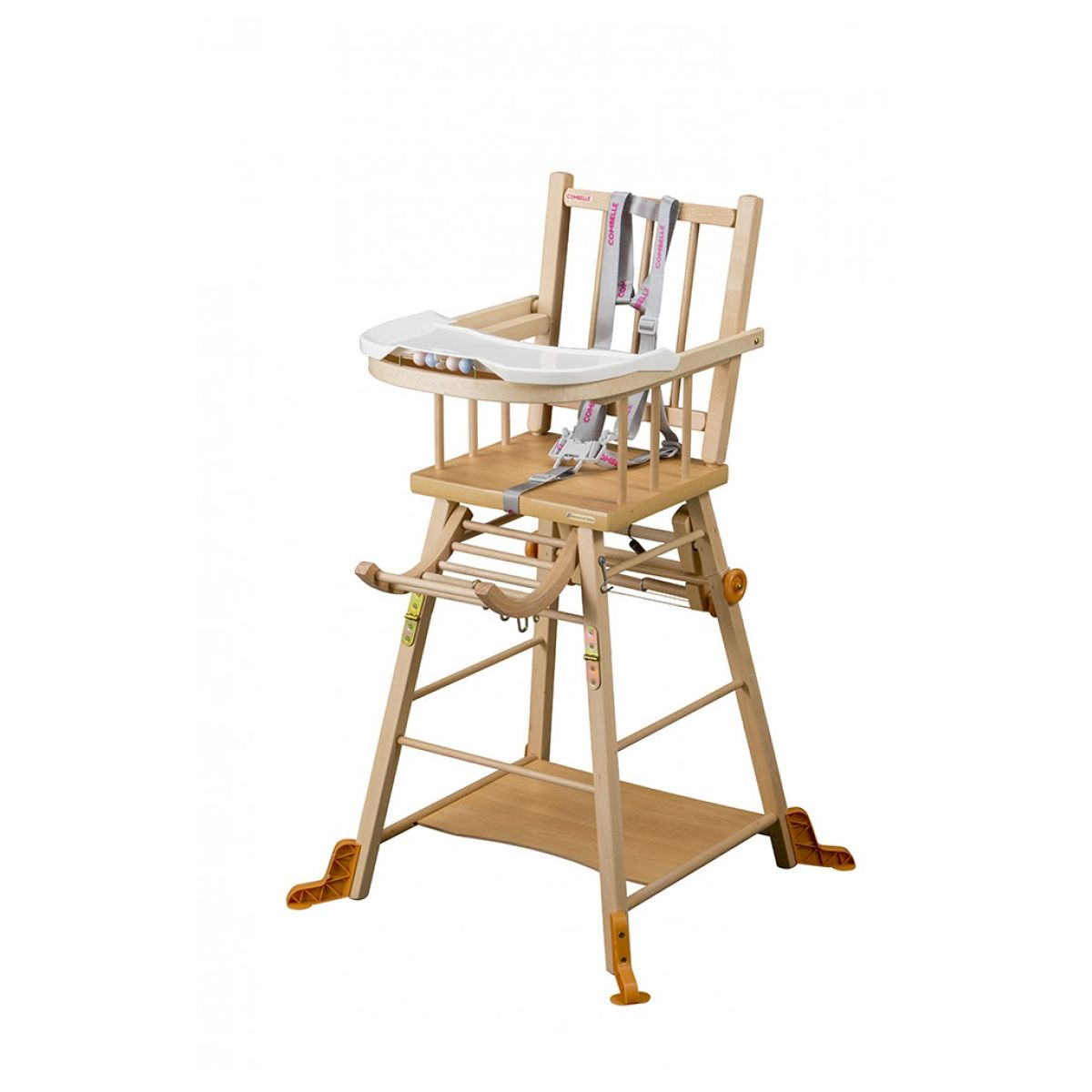 Chaise Transformable Haute Naturel Marcel Vernis thdQrs
