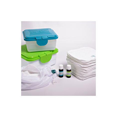 kit d 39 alternative au papier de toilette coton blanc 1 he rose g ranium et 1 he teatree sebio. Black Bedroom Furniture Sets. Home Design Ideas