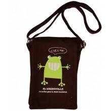 Pochette grenouille - 100% coton biologique *