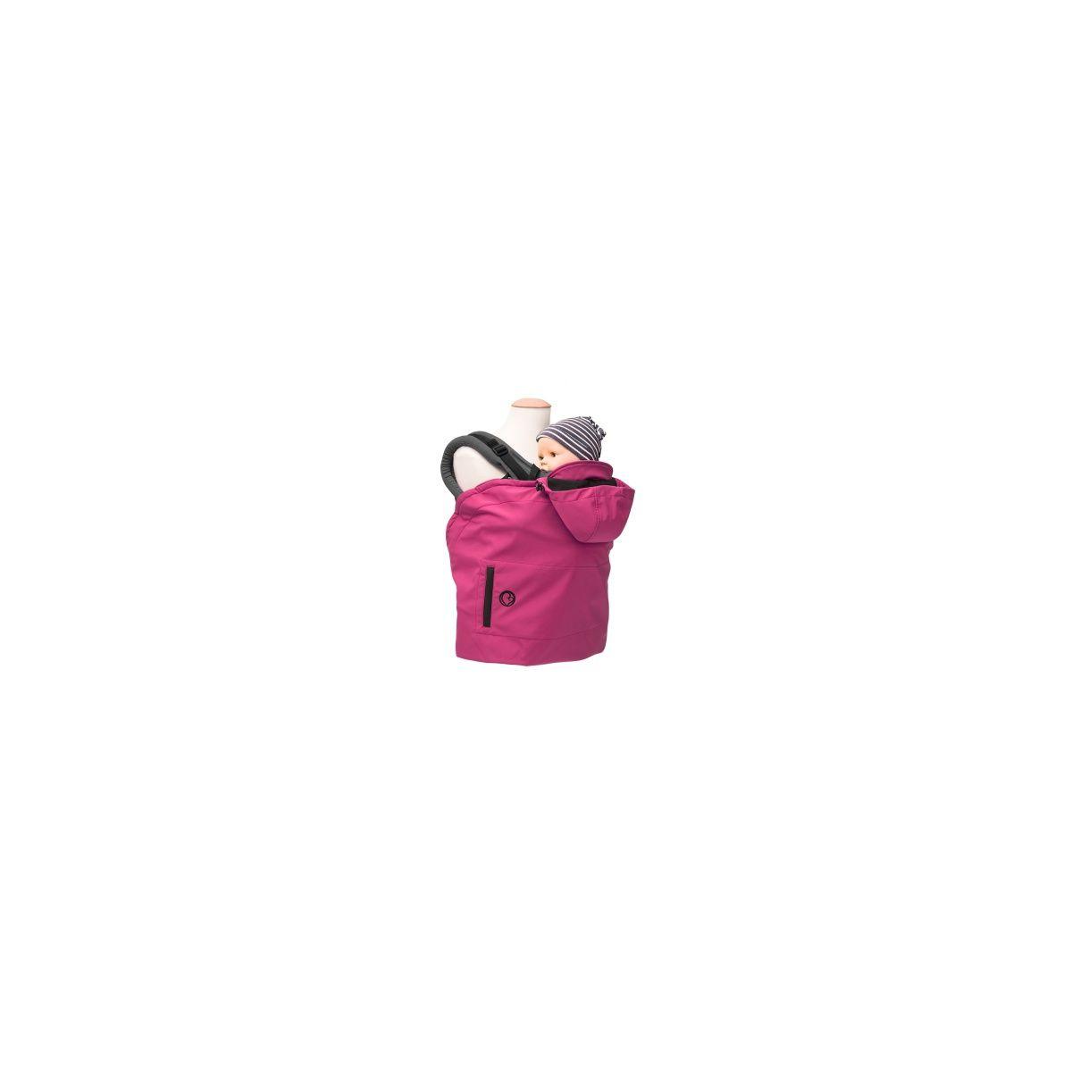 5d0f7efe97a0 Couverture de portage Evolutive Softshell Framboise   (Mamalila)