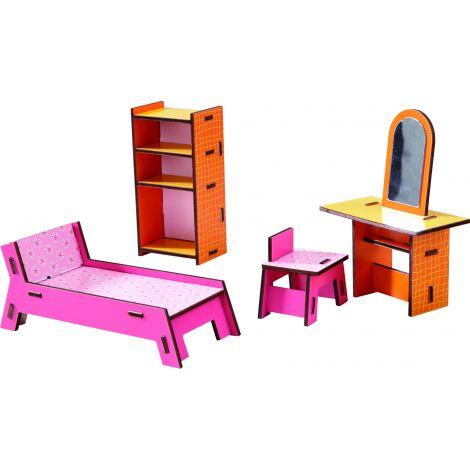 Meubles pour maison de poupée Little Friends coin beauté - à partir de 3 ans    103ce03ace58
