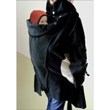 Veste tunique de maternité en laine - Noir   Paloma Grey   d1302c6cbee