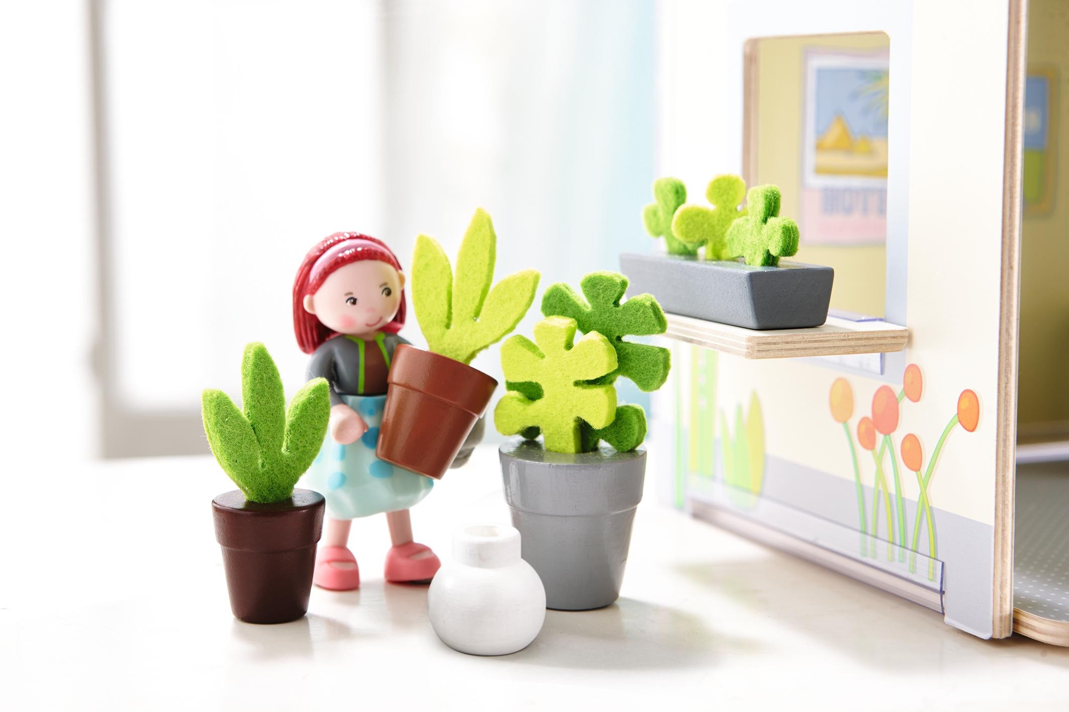 Accessoires poupée - fleurs et plantes - Little Friends - à partir de 3 ans  - SeBio ebd85ecfe77a