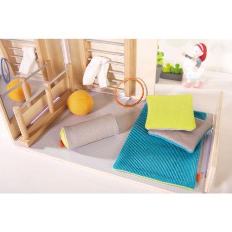 Accessoires pour maison de poupée - les plaisirs de la gymnastique ... Accessoires  pour maison. les Little Friends ... 9e9240998b81