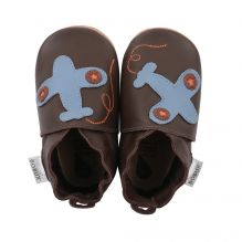 Chaussons 4259 - Chocolate Plane
