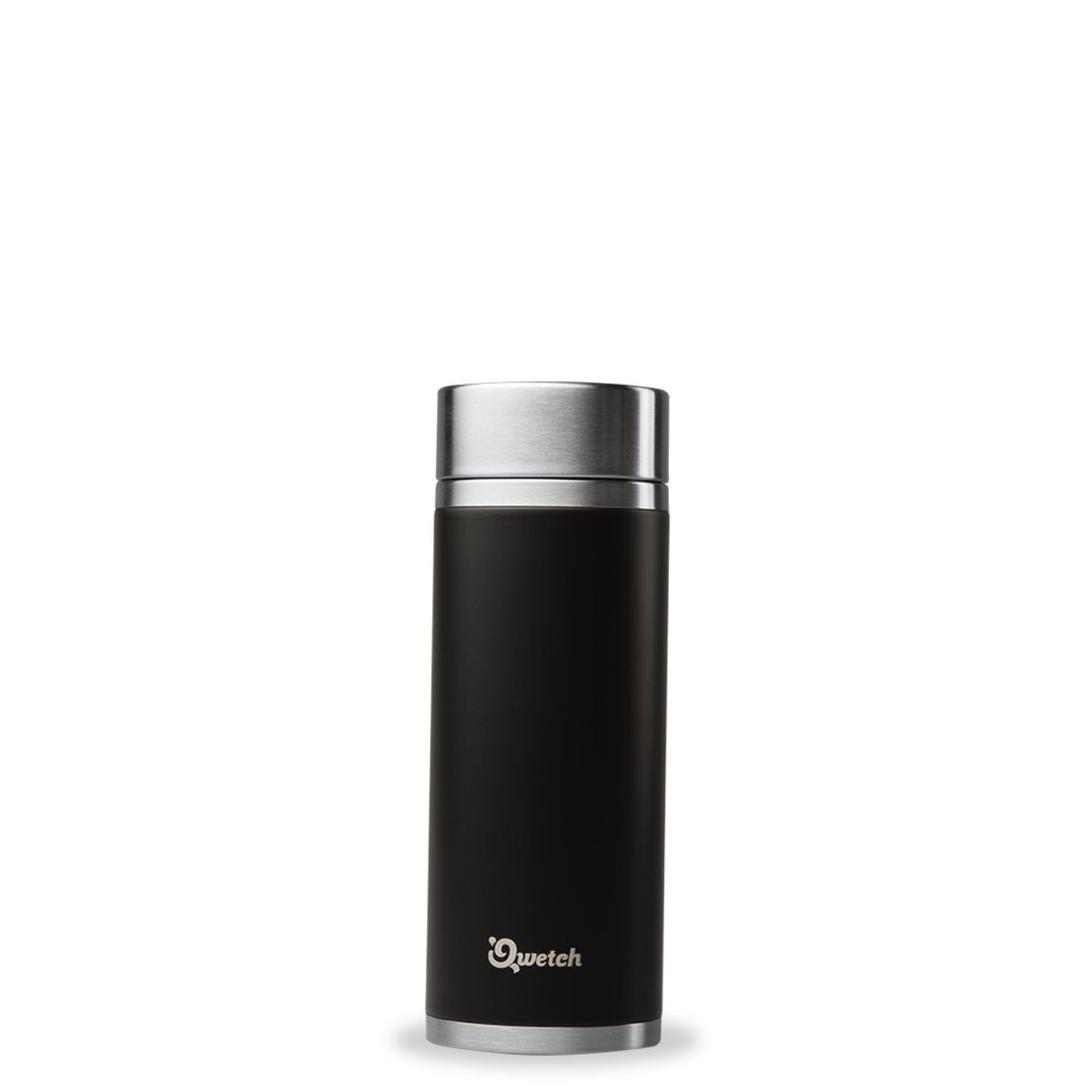 Théière nomade isotherme en inox 300 ml Noir
