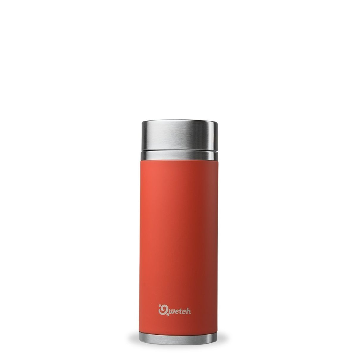 Théière nomade isotherme en inox 300 ml Rouge