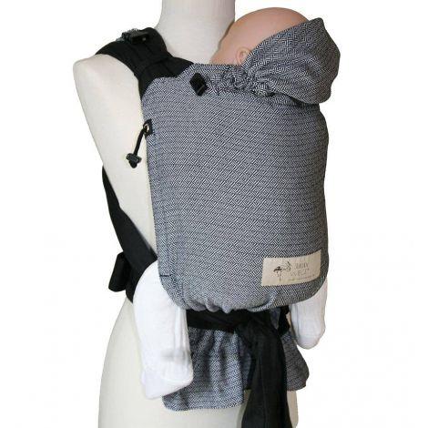 cffe311016f5 Porte bébé Baby Carrier - Black and White - SeBio