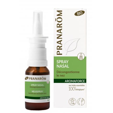 Spray Bio pour le nez 15 ml - Aromaforce