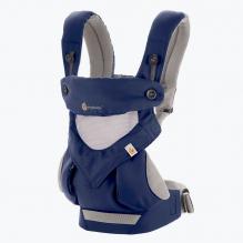 Porte-bébé 360 4 positions - Cool air mesh - French Blue fbf30a07076