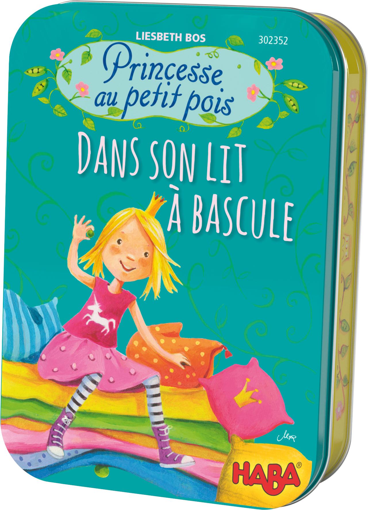 Princesse Au Petit Pois Dans Son Lit A Bascule A Partir De 4 Ans
