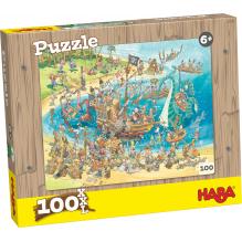 Puzzle Pirates - 100 pièces - à partir de 6 ans
