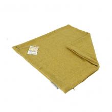 9b1eff5b66a3 Housse en laine recyclée pour coussin 43 x 43 cm Zig Zag Safran