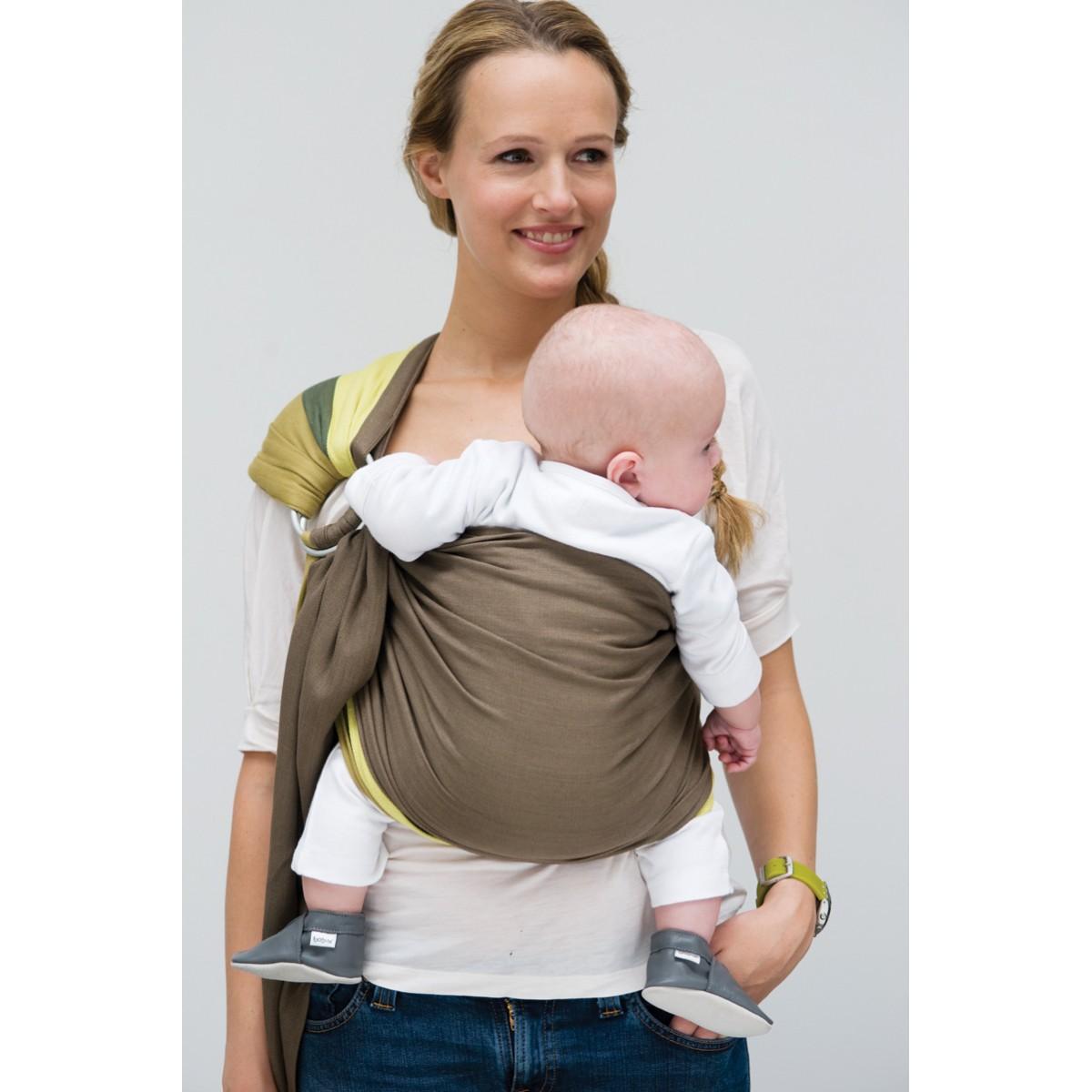 Echarpe porte-bébé BB Sling - padded - 972 - Black Beans. 1 ... 40e1522a22c