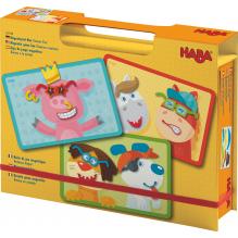 Boîte de jeu magnétique 'Animaux dingos' - à partir de 3 ans