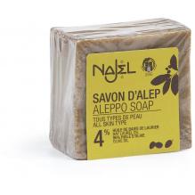 Savon d'Alep 4 % laurier - 200 g