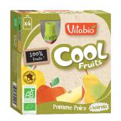 Cool Fruits - Pomme Poire - Lot de 4 Gourdes